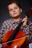 cellist foto de stock