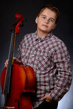 cellist foto de archivo