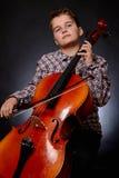 cellist foto de archivo libre de regalías