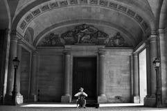 Cellist in Paris Stock Photography