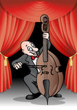 Cellist performance Royalty Free Stock Photo
