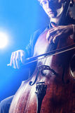 Cellist Stock Images
