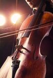 Cellist Stock Photography