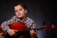 Cellist stock images