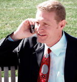 cellmantelefon royaltyfri bild