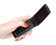 cellmobiltelefon Arkivfoto