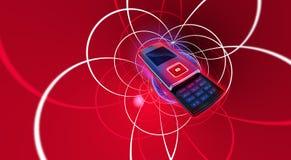 cellmobiltelefon vektor illustrationer
