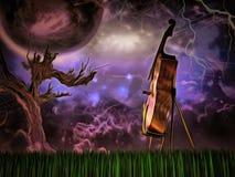 Cello vector illustratie