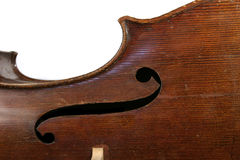 Cello Abstract. Abstract cello image showing the f hole Stock Photo
