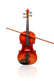 Cello with bow Stock Image