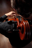 The cello and the cellist Stock Photography