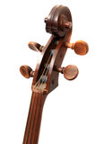 Cello closeup background Royalty Free Stock Photo