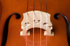 Cello-Detail Lizenzfreies Stockbild