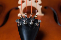 Cello-Detail Stockfotos