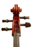 Cello Head Royalty Free Stock Photo