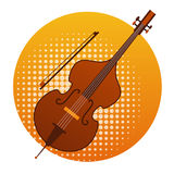 Cello Icon Violin Music Instruments Stock Photos