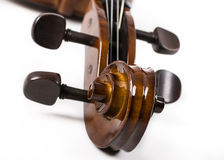 Cello. Image of a Cello on a white seamless background royalty free stock photography