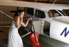 Cello-Mühe lizenzfreies stockbild
