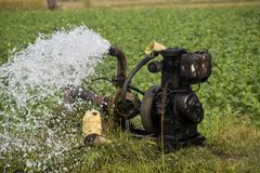 Cello machine water pump water supply stock photos