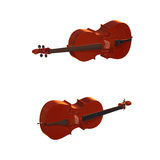Cello musical instrument 3d illustration Stock Images