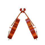 Cello musical instrument 3d illustration Royalty Free Stock Image