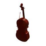 Cello musical instrument 3d illustration Stock Photos