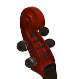 Cello musical instrument 3d illustration. Cello string bow musical instrument 3d illustration Royalty Free Stock Photo