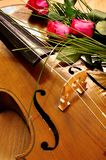 Cello Musical instrument stock photo