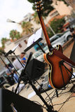 Cello and musical instruments Royalty Free Stock Photo