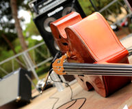 Cello and musical instruments Royalty Free Stock Photos