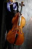 Cello musician Royalty Free Stock Photos