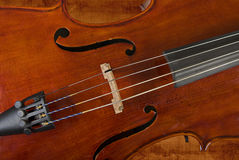 Cello oder Violine Stockbild