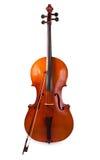 Cello op een witte achtergrond Royalty-vrije Stock Foto