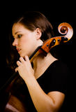 Cello player Stock Photos