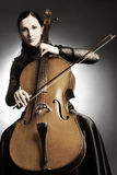 Cello playing Stock Photos