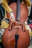 Cello Street musician Stock Photos