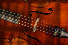 Cello or violin Royalty Free Stock Photos