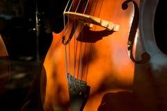 Cello Violin Body closeup musical instrument Royalty Free Stock Photography