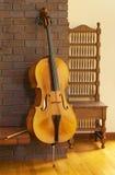 Cello or violoncello Stock Photo
