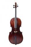 Cello on a white background Stock Photos