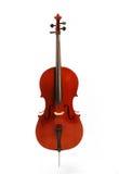 Cello. On the white background royalty free stock photo