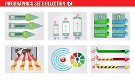 Celloction των εικονιδίων και του καθορισμένου αριθμού 2 infographics συμβόλων Στοκ φωτογραφία με δικαίωμα ελεύθερης χρήσης