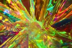 Cellophane et fond psychédéliques de lumières - illustration Images stock