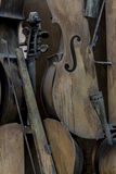 Cellos Royalty Free Stock Photography