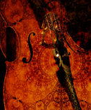 Cellos at Midnight Royalty Free Stock Photo