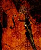Cellos at Midnight Royalty Free Stock Photo