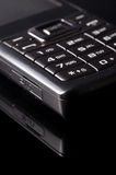 Cellphone. Very closeup shot of cellphone keypad Royalty Free Stock Image