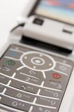 Cellphone. A close-up shot of a phone (shallow depth of field used Royalty Free Stock Photo