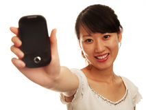 Cellphone Royalty-vrije Stock Afbeelding