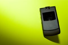 Cellphone. View of thin cell phone Royalty Free Stock Images